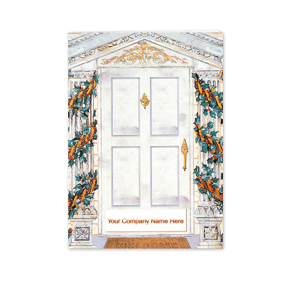 Picture of Holiday Doorway Greeting Card