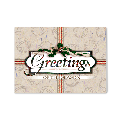 Picture of Holiday Present Greeting Card