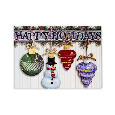 Picture of Hanging Ornaments Greeting Card