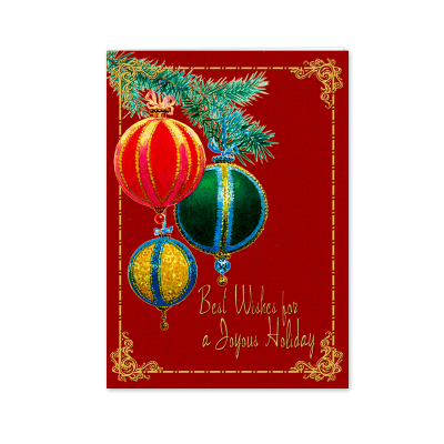 Picture of Victorian Ornaments Greeting Card