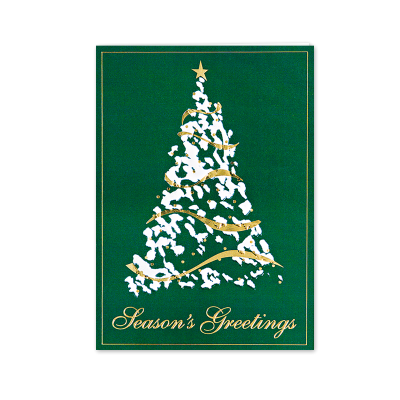 Picture of Contemporary Tree Greeting Card