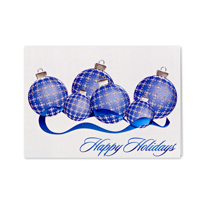 Picture of Plaid Ornament Greeting Card