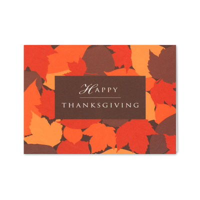 Picture of Happy Thanksgiving Greeting Card