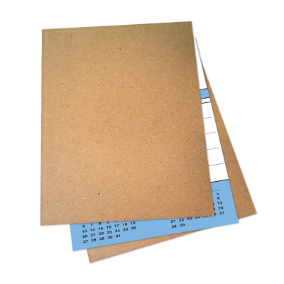 Picture of Contractor Calendar Cardboard Stiffeners