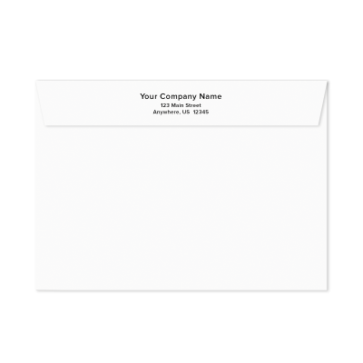 Picture of Personalized Greeting Card Envelopes