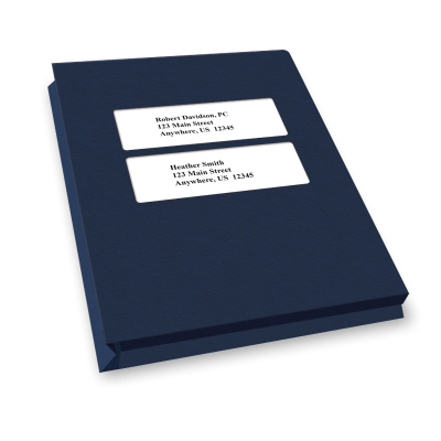 Picture of Expansion Small Double Window Tax Software Folders