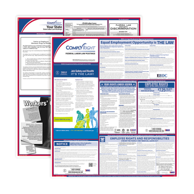 Picture of Labor Law Federal & State Poster Sets