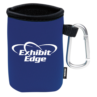 Picture of Collapsible KOOZIE® Can Kooler with Carabiner