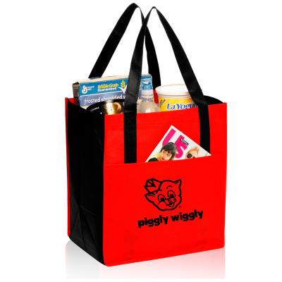 Picture of Non-Woven Shopper Tote Bag - 13 x 14.5 x 9.5