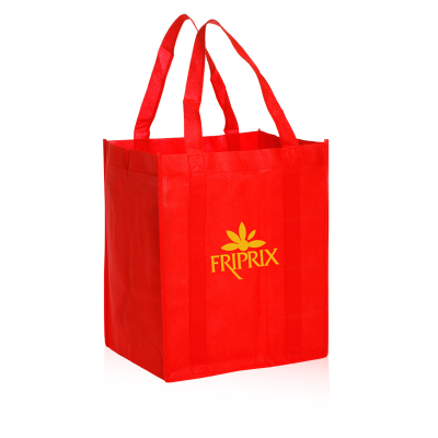 Picture of Reusable Grocery Tote Bag - 13 x 15 x 10