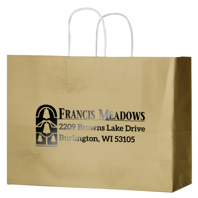 Picture of Gloss Paper Shopper Bag - 16 x 13 x 6