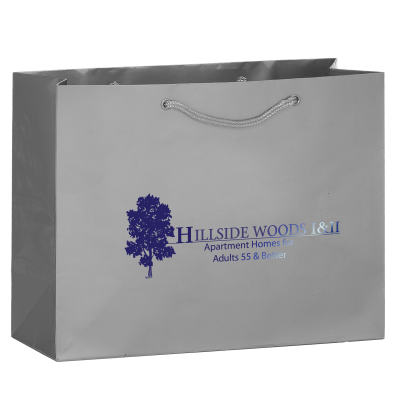 Picture of Matte Laminate Euro Tote - 13 x 10 x 5