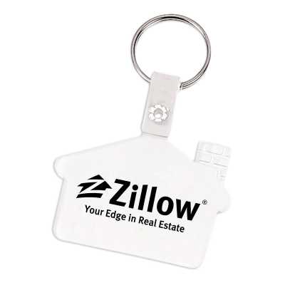 Picture of Soft Vinyl House Key Tag