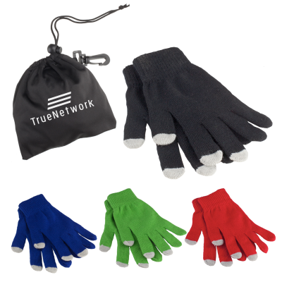 Picture of Touch Screen Gloves in Pouch
