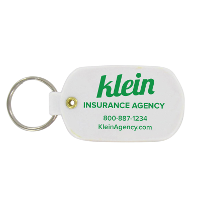 Picture of Soft Vinyl Oval Key Tag