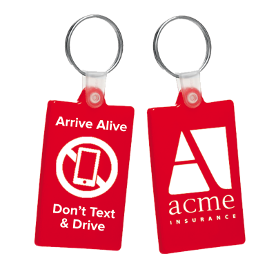 Picture of Arrive Alive - Don't Text and Drive Key Tag