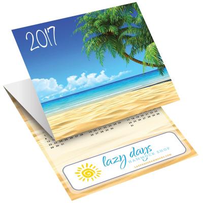 Picture of Beach Tri-Fold Greeting Card Calendar