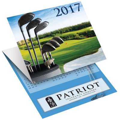 Picture of Golf Tri-Fold Greeting Card Calendar