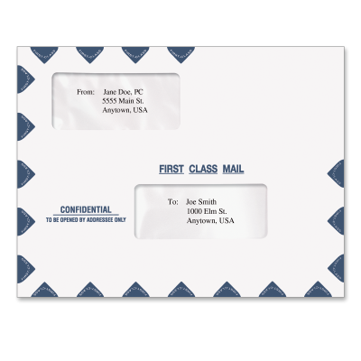 Picture of Expandable 10 x 13 Tax Software Envelope (Confidential)