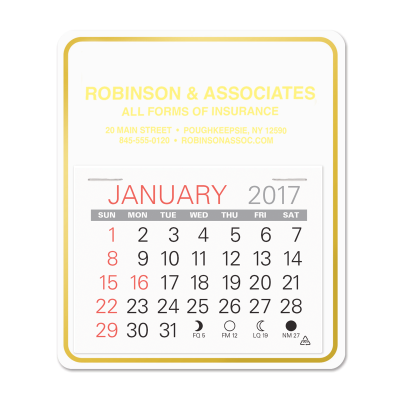 Picture of Easy Stick-On Calendar