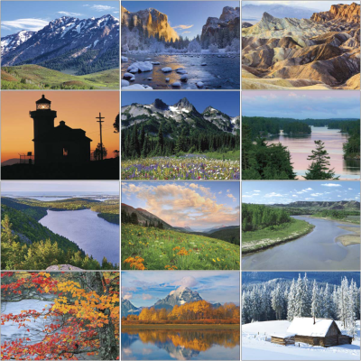 Picture of Commercial Wall Calendar