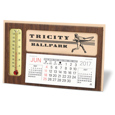 Picture of Thermometer Desk Calendar