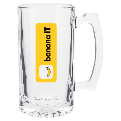 Picture of 25 oz. Glass Beer Mug
