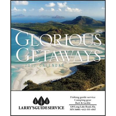 Picture of Glorious Getaways Mini Wall Calendar