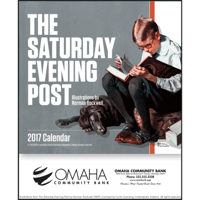 Picture of The Saturday Evening Post Mini Wall Calendar
