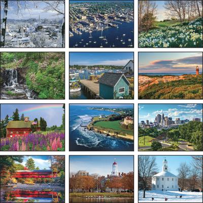Picture of New England Wall Calendar