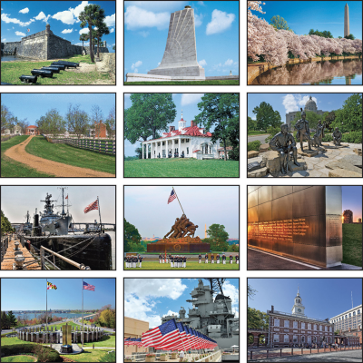 Picture of Great Symbols of American History Wall Calendar