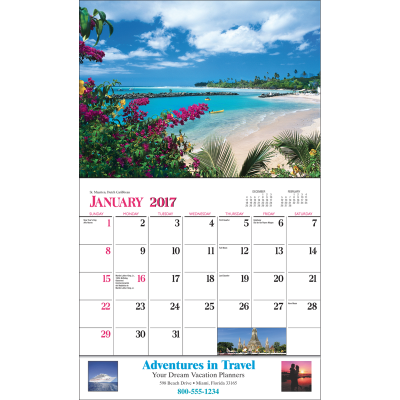 Picture of Destination Dreams Wall Calendar