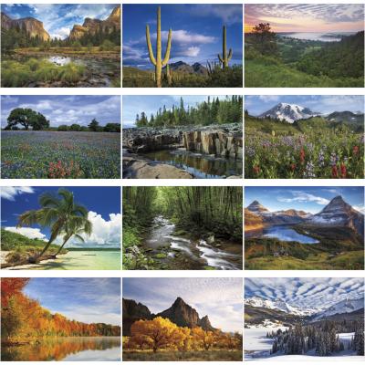 Picture of Scenic American Splendor Large Wall Calendar