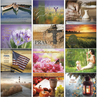 Picture of Words of Life Wall Calendar