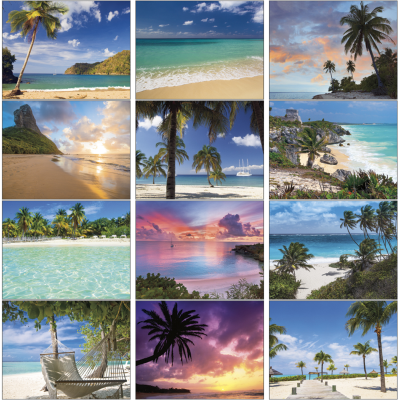 Picture of Beaches Wall Calendar