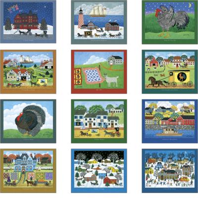 Picture of Folk Art Wall Calendar