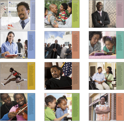 Picture of African American Community Wall Calendar