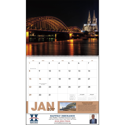 Picture of Amazing Accomplishments of Mankind Wall Calendar