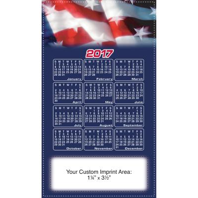 Picture of Calendar Magnet - Patriotic Flag