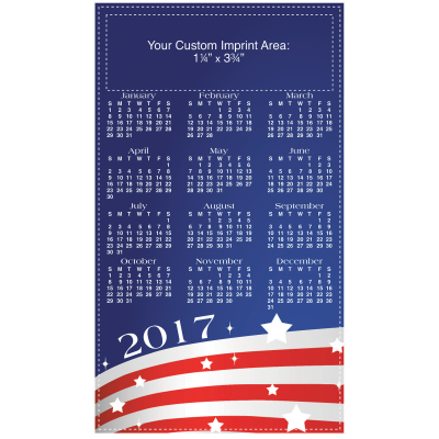 Picture of Calendar Magnet - USA