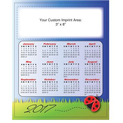 Picture of Large Calendar Magnet - Ladybug