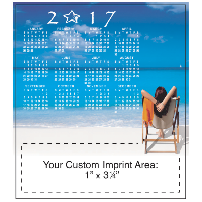 Picture of Calendar Magnet - Beach Time