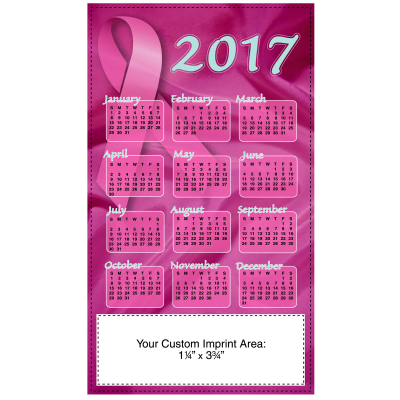 Picture of Calendar Magnet - Breast Cancer Awareness