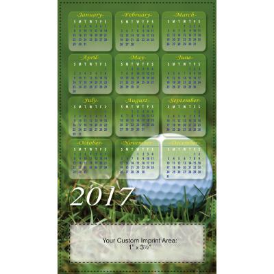Picture of Calendar Magnet - Golf Ball