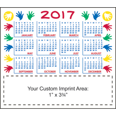 Picture of Calendar Magnet - Hands