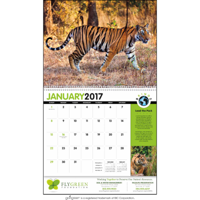 Picture of B Kind 2 Earth Wall Calendar