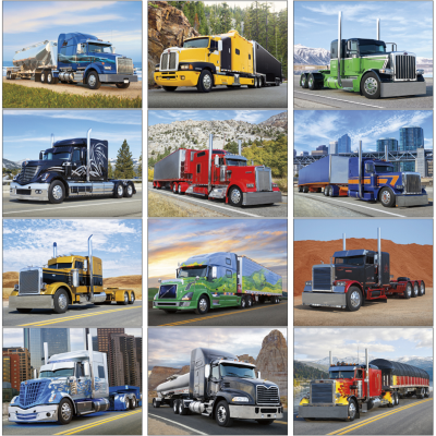 Picture of Big Rigs Wall Calendar