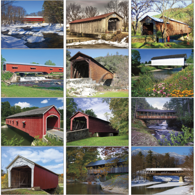 Picture of Bridges Wall Calendar