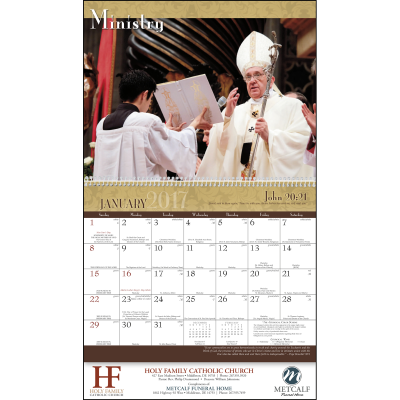 Picture of Catholic Traditions Wall Calendar
