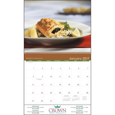 Picture of Gracious Dining Wall Calendar